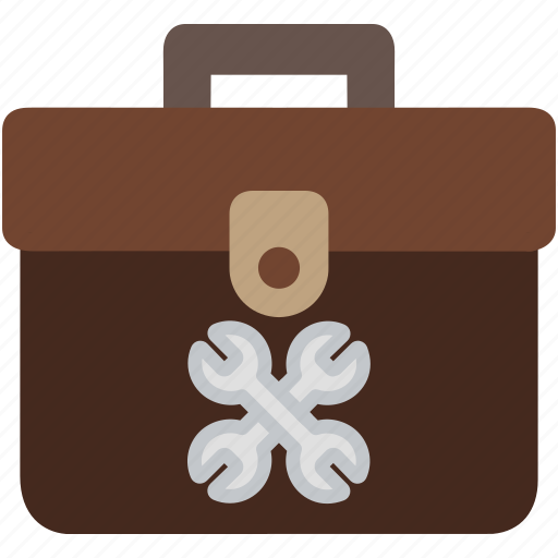 bag, box, container, tools icon