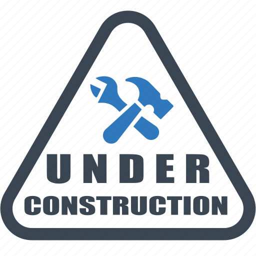 badge, construction, sticker, under construction, under icon icon