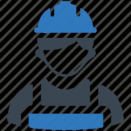 builder, constructor, helmet, worker icon