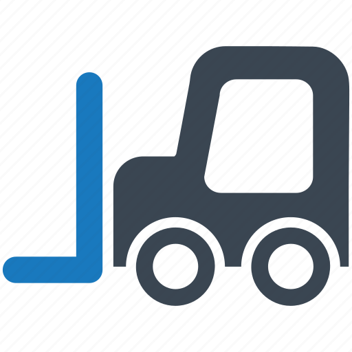 fork lift, forklift, lifter, lifting, loader, shipping, truck icon