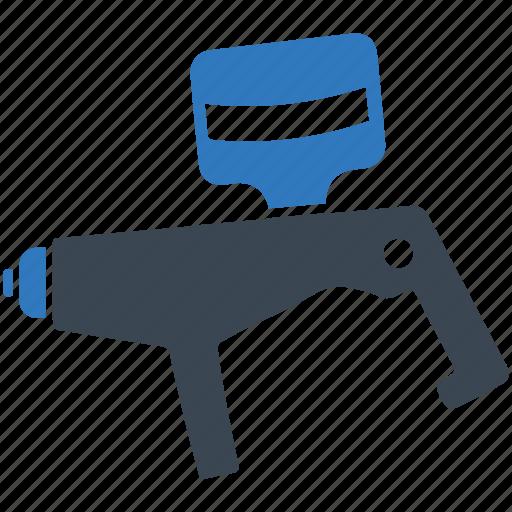 automobile, painting, spray gun, sprayer icon