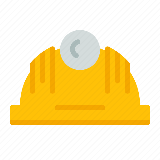 civil, construction, engineer, helmet, protection, safety icon