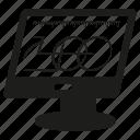 computer, design icon