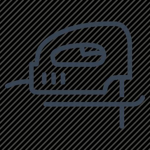construction, equipment, jigsaw, tool icon