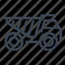 construction, dump, machine, truck, vehicle