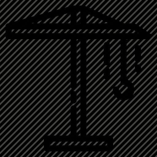 building, construcion, crane, real estate, tools icon