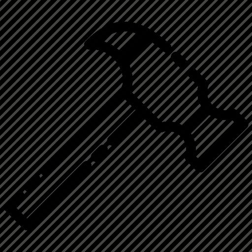 Building, hammer, tools, construcion, real estate icon