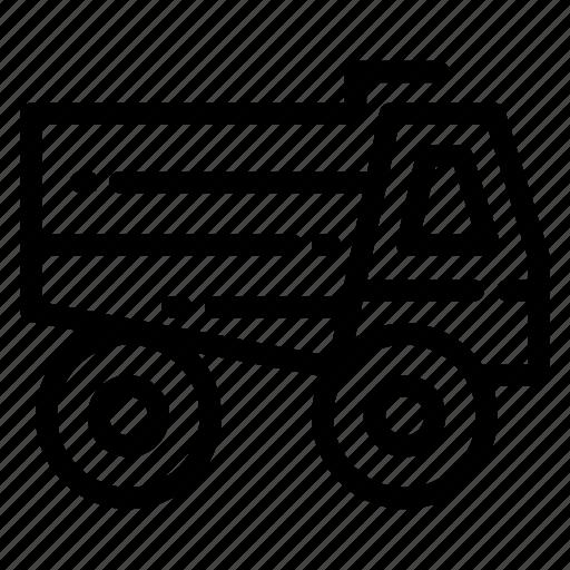 Building, construcion, real estate, tools, truck icon - Download on Iconfinder