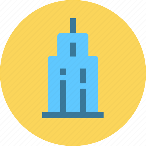 building, city, construction, house, office icon