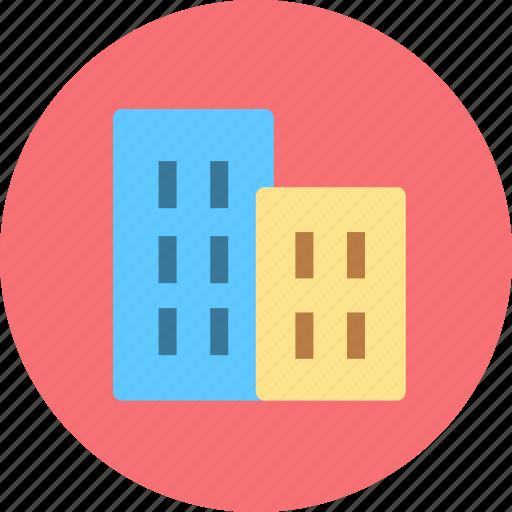 building, city, houses icon
