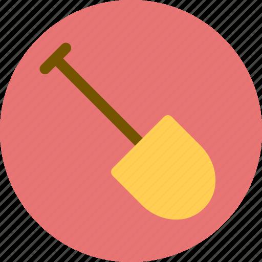 buidling, construction, shovel icon