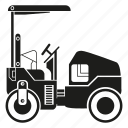 car, construction equipment, heavy equipment, loading, machinery, vehicle icon