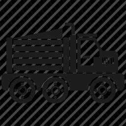 bulldozer, construction equipment, heavy equipment, machinery, truck, vehicle icon