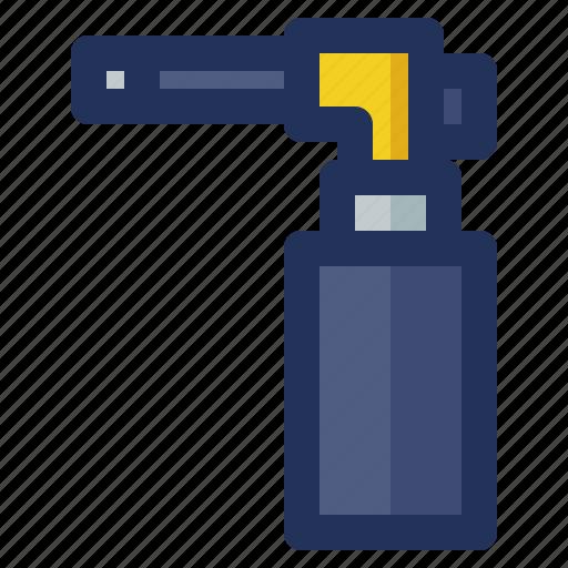 blowtorch, building, construction, crenelation, labor icon
