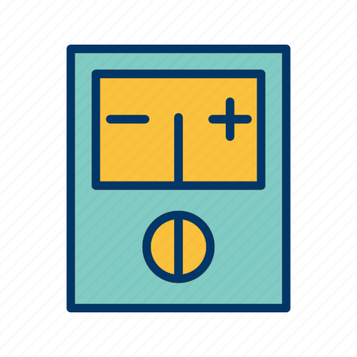 meter, technician, voltage, voltmeter, work icon