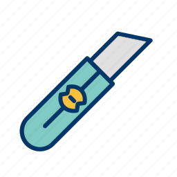 cutter, cutting, knife, tool icon