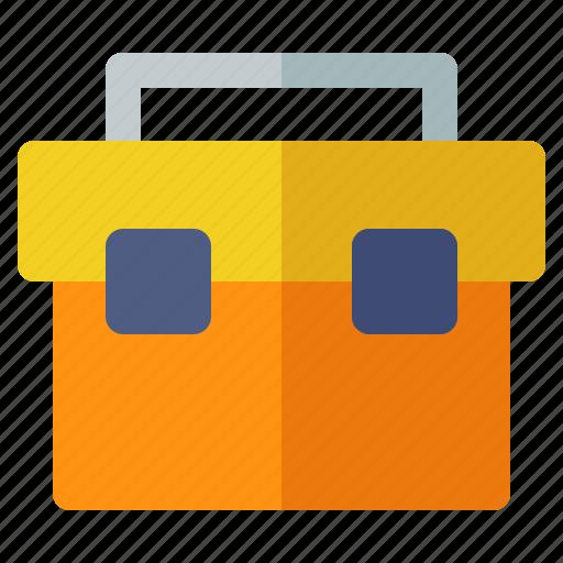 box, building, construction, crenelation, labor, tool icon