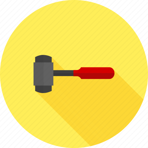 construction, demolition, equipment, hardware, sledge hammer, tool, work icon