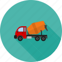 cement mixer, cementing, construction, machine, mixing icon