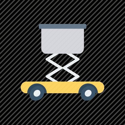 construction, crane, lifter, vehicle icon