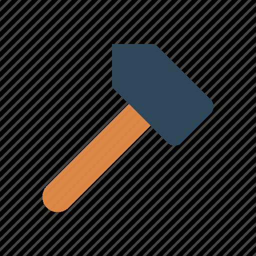 construction, hammer, tool, work icon