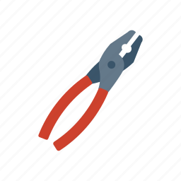 construction, fix, plier, tool icon
