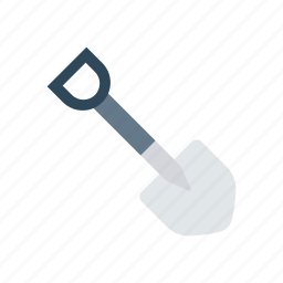 construction, shovel, tool, trovel icon