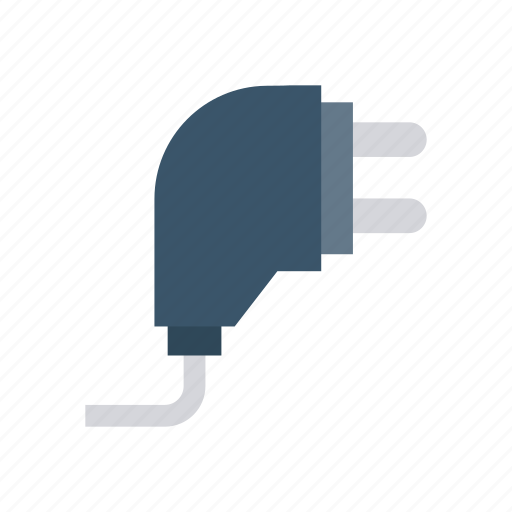 cable, connector, electricity, plugin icon