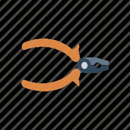 construction, fix, plier, tool icon