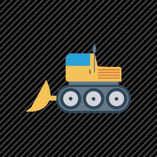 construction, crane, transport, vehicle icon