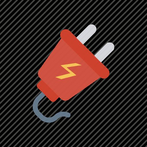 connector, energy, plugin, power icon