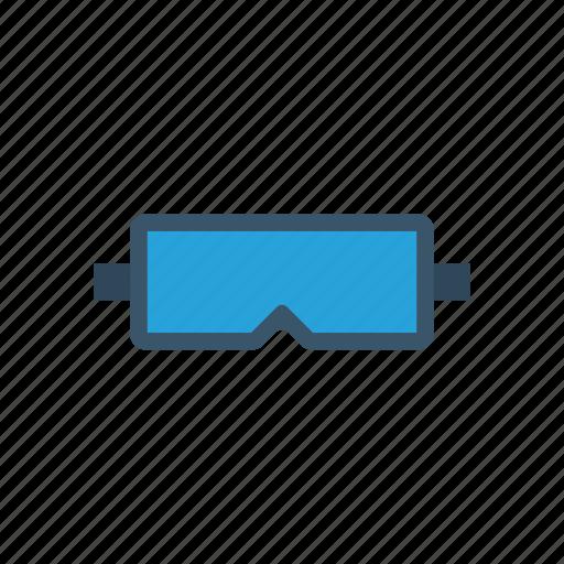 construction, eye, glasses, safety icon