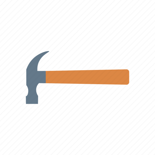 construction, hammer, repair, tool icon