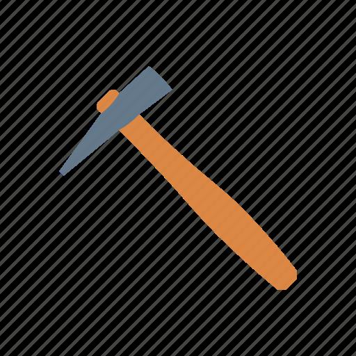 construction, hammer, martillo, tool icon