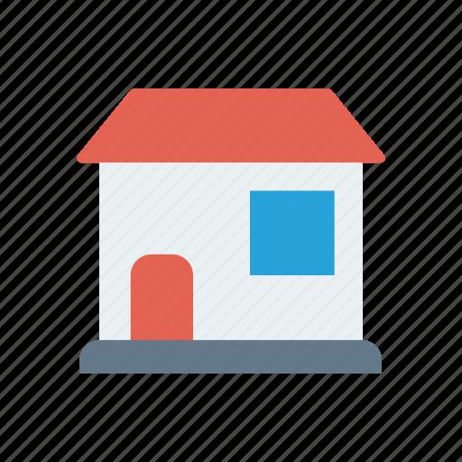 building, estate, house, store icon
