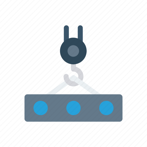 construction, container, crane, lifter icon