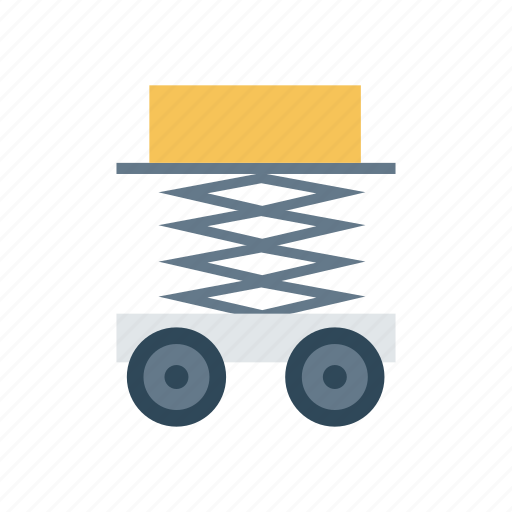 Construction, lifter, truck, vehicle icon - Download on Iconfinder