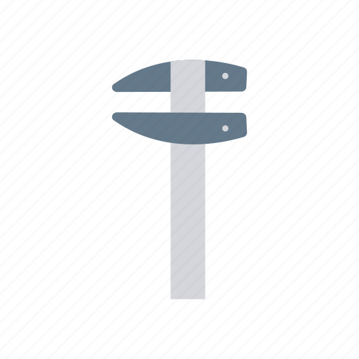 construction, measure, ruler, tool icon