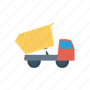 cargo, construction, mixer, vehicle icon