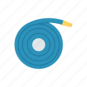 construction, hose, pipe, water icon