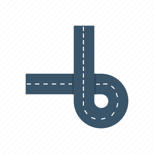 construction, path, road, route icon