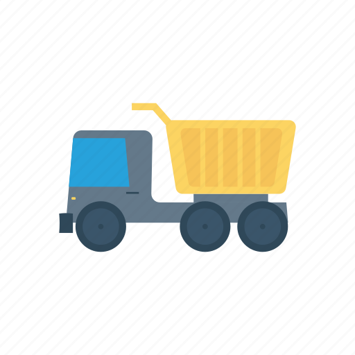 construction, road, truck, vehicle icon