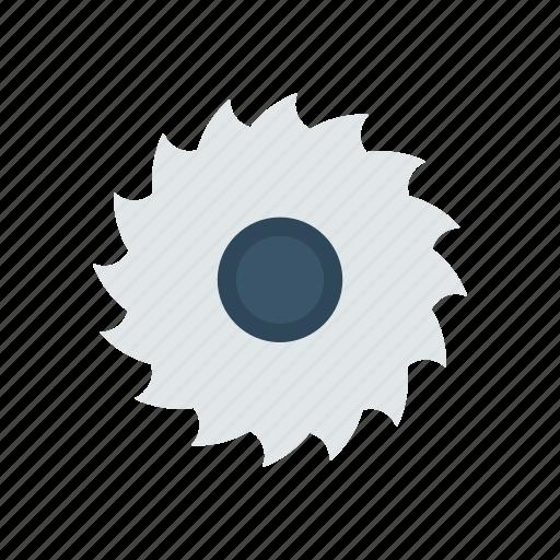 blade, cut, saw, tool icon