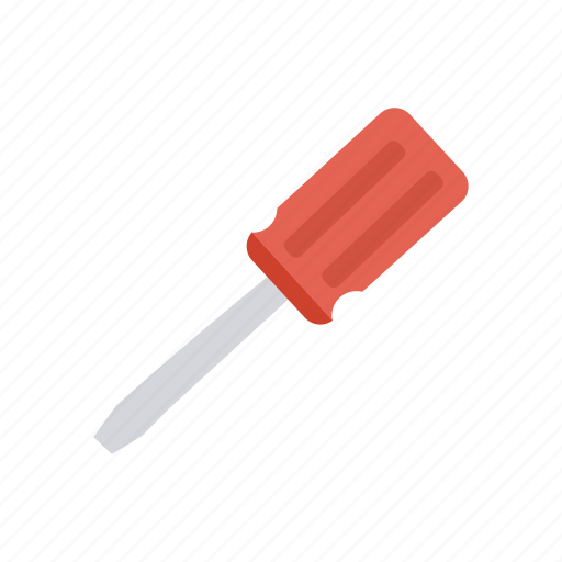 construction, fix, screwdriver, tool icon