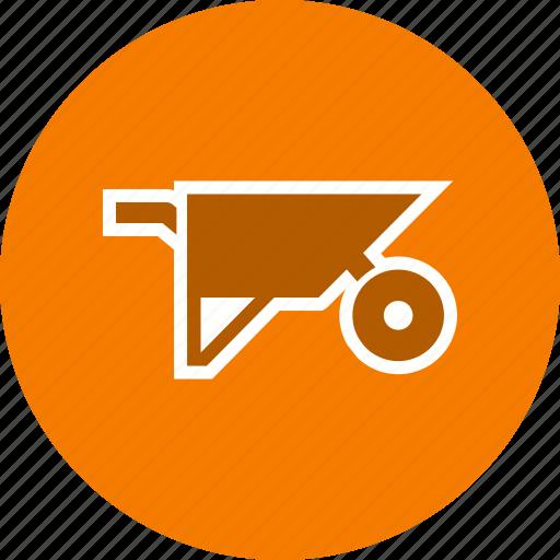 agriculture, barrow, construction, trolley, wheelbarrow icon