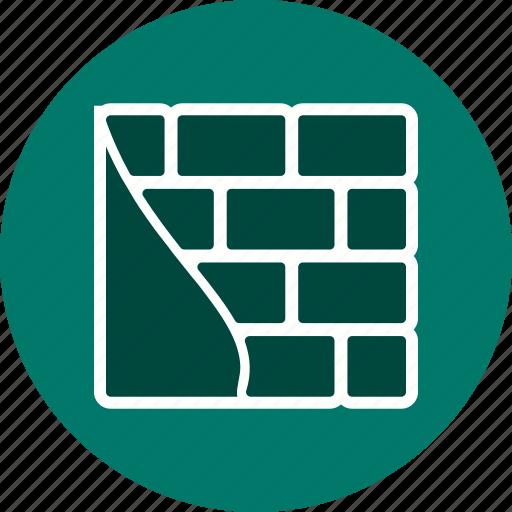 brick wall, brickwall, construction, wall icon