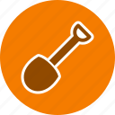 construction, farm, gardening, shovel icon