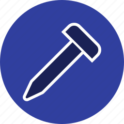 hard, nail, screw, tool, work icon