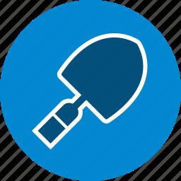 construction, gardening, shovel, tool, trowel icon