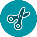 cut, cutting, scissor icon